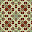 Seamless colorful retro pattern vector background