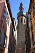 St. Martin's Church Tower and historical center of Cochem