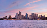 Fototapety Sydney, Pink Sunset 1