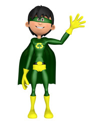 super eco man hello