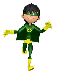 super eco man I gonna save you