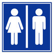 Señal aeropuerto simbolo unisex