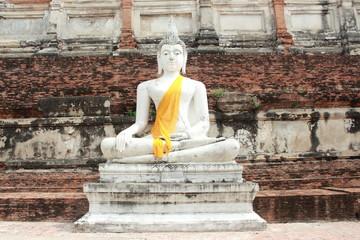 Ancient Buddha, Pagoda & Ruins in Ayutthaya, Thailand