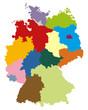 Deutschlandkarte (III)