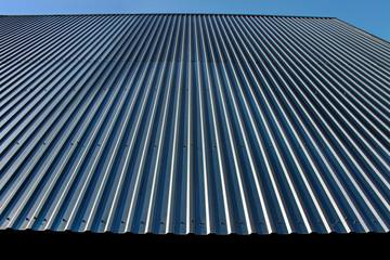Metal roof.