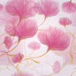 Pink wild roses / Seamless romantic flower background