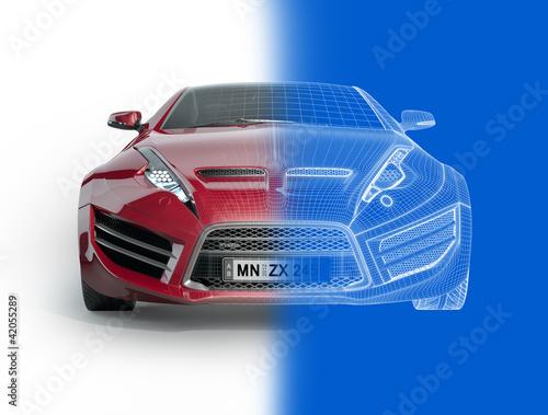 projekt-samochodu-sportowego