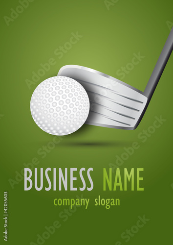 Business logo golf desing