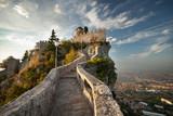 Fototapety Rocca della Guaita, Castle in San Marino