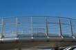 Steel walkway.