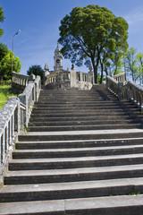 Iglesia de Los Milagros de Amil en Moraña