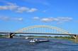Waabrug view in Nijmegen (Gelderland-The Netherlands)