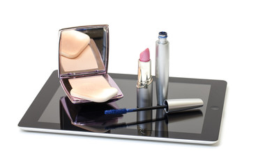 Tablet PC with Cosmetic Set
