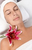 Beauty treatment in dayspa poster
