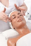Beauty treatment at dayspa poster