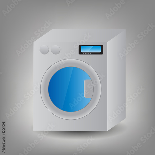 Washing Machine icon vector illustration