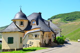 Art Nouveau house in the Moselle valley (Germany)