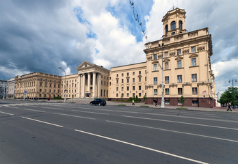 Independance avenue Minsk Belarus KGB committee of state or gove