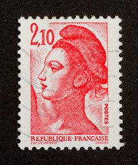 FRANCE - CIRCA 1980: Stamp printed in France