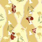 Koala repeating pattern