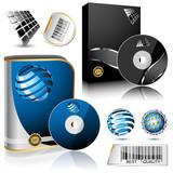Fototapety Software box.