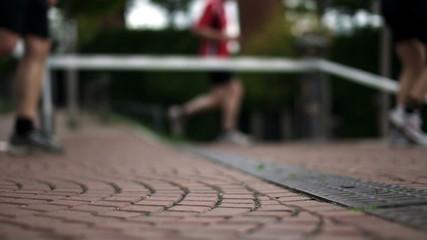 Jogger Füsse Nah/Detail