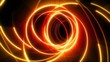 neon circles rotate