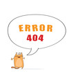 Error 404 with cat