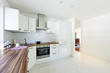 interior house, large modern kitchen