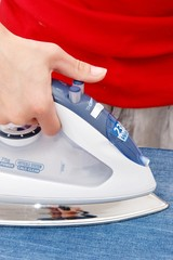 house work-ironing