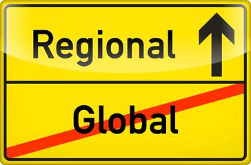 global > regional