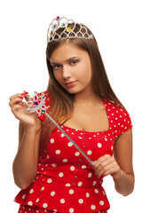 The pageant queen