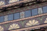 Detail Geburtshaus Drake in Lemgo poster