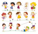 Fototapety simple kids