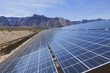 Solar panels in the Mojave Desert. - 42076689