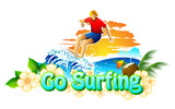 Go Surfing Campaign poster