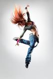 Fototapete Frau - Weiblich - Gesundheit / Turnen / Tanz