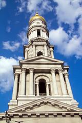 Ukraine, Charkow, Europa, Kirche, Turm, Kuppel