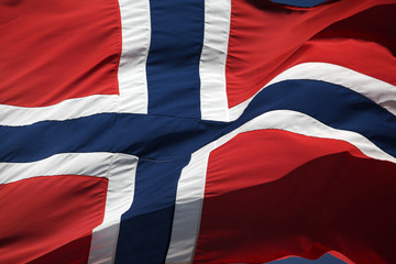 The Norwegian flag - 17th of May