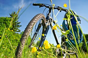 Trekkingbike Pause