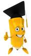 Crayon étudiant