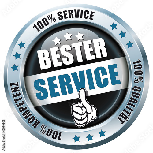 Bester Service - Button