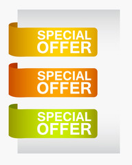 stickers special offer