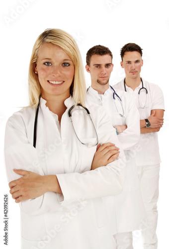 zufriedene Ärzte