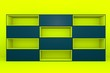 yellow-navy color box rectangler