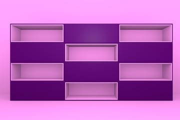 pink-purple color box rectangler