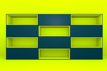 yellow-navy color box rectangler