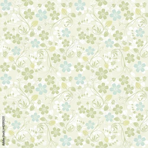 Nahtloses Muster der Blume