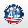 independence day button background