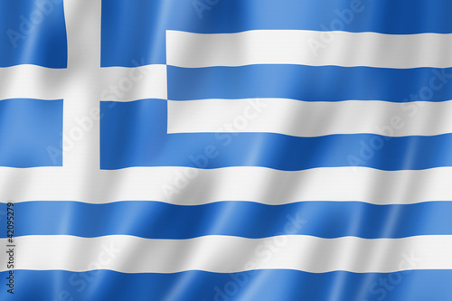 Greek flag - 42095279